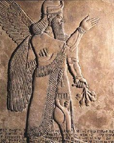 """According to the Babylonian creation myth, these ancient Sumerian gods, known as the Annunaki (translating to """"those of royal blood"""" or """"offspring of the prince"""") created humankind to serve them by tilling the land, but the humans rebelled and the Annunaki freed them because they were more trouble than they were worth."""