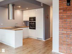 Cosy Kitchen, Open Plan Kitchen Living Room, Kitchen Room Design, Modern Kitchen Design, Home Decor Kitchen, Kitchen Furniture, Kitchen Interior, Home Kitchens, Architect Design House