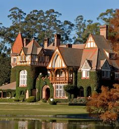 Estancia Villa Maria in Buenos Aires,Argentina Wonderful Places, Great Places, Places To Go, Beautiful Places, Places Around The World, Around The Worlds, Art Nouveau Arquitectura, Chile, Amazing Architecture