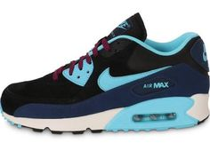 buy online c179a df701 Nike Air Max 90 LTR Mid Navy Pas Cher femme