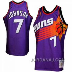 http://www.jordanaj.com/kevin-johnson-mitchell-ness-phoenix-suns-19961997-throwback-purple-jersey.html KEVIN JOHNSON MITCHELL & NESS PHOENIX SUNS 1996-1997 THROWBACK PURPLE JERSEY Only $89.00 , Free Shipping!