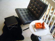 Ludwig Mies van der Rohe barecelona chair modern mid century