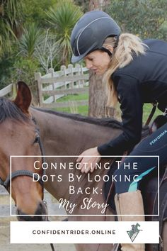 My horsing life right back to when I was a little girl, involvement with different facets of mental health, my time overseas working in trauma and aid relief and my adventures studying yoga therapy >> Confident Rider - mindset, movement and nervous system awareness for equestrians Horseback Riding Lessons, Emotional Resilience, Horse Riding Tips, Connect The Dots, S Stories, Story Time, Training Tips, Nervous System, Looking Back