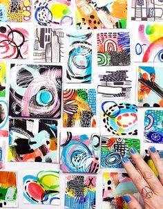 alisaburke: NEW CLASS miniature masterpiece launches today! Vogel Illustration, Medical Illustration, Alisa Burke, Art Journal Pages, Art Journals, Art Journal Inspiration, Art Plastique, Elementary Art, Magazine Art