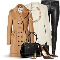 #womens fashion #winter fashion. #leather