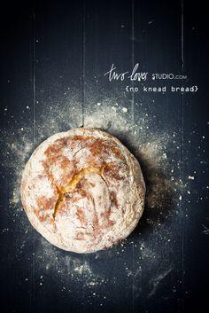 No-Knead Bread | Two Loves Studio chorowanie ma swoje dobre strony. chodzi za mna chleb, taki jak ten :-)
