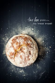 No-Knead Bread | Two Loves Studio