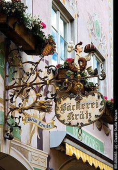 Bakery, Garmisch_Patenkirchen, Werdenfelser Land, Upper Bavaria, Bavaria, Germany, Europe