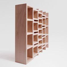 REK Bookcase Junior by Reinier de Jong