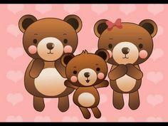 ▶ Muffin Songs - Three Bears   nursery rhymes & children songs with lyrics   muffin songs - YouTube