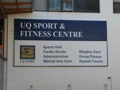UQ Sports and fitness centre  http://www.uqsport.com.au/