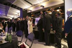 There are plenty of ways to get involved. Here, the newly elected board of directors are sworn in for a new term.