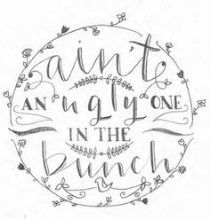 Samantha K. - Some lovely sketches by Samantha - The First Steps of Hand-Lettering: Concept to Sketch