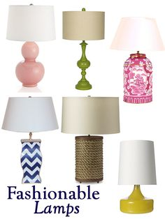 #Lamps, Lamps, Lamps! What is your favorite lamp style?
