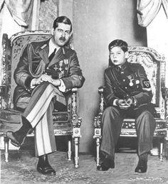 Carol II de Rumanía y el príncipe heredero Miguel