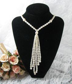 Vintage Pearl Wedding Necklace by Keepsakes By Katherine