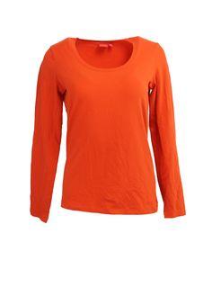 Longsleeve orange Gr. L