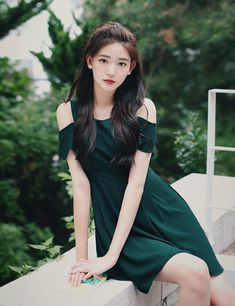 milkcocoa Cute Korean Fashion, Asian Fashion, Girl Fashion, Korean Beauty Girls, Asian Beauty, Cute Asian Girls, Beautiful Asian Girls, Modern Fashion Outfits, Fashion Dresses
