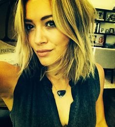 Hilary Duff Chops Off Her Hair; Debuts Perfect Summer Bob