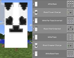 Panda🍇 – – - Minecraft World Minecraft Plans, Minecraft Room, Minecraft Tutorial, Minecraft Blueprints, Minecraft Crafts, Minecraft Furniture, Minecraft Houses, Minecraft Recipes, Minecraft Interior Design