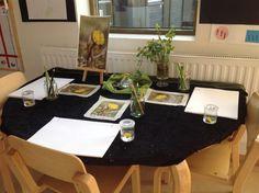 Pedagogiska miljöer - Små barns lärande Reggio Emilia, Preschool, Table Settings, Montessori, Inspiration, Tips, Visual Arts, Documentary, Decorations