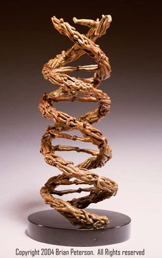 dna metal sculpture - Google Search
