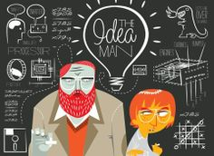 The Idea Man - Infographic