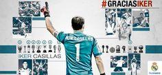 OFICIAL   Casillas abandona el Real Madrid tras 25 años. El portero jugará en el Oporto las dos próximas temporadas.