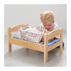 DUKTIG Doll bed with bedlinen set - - - IKEA
