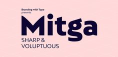 65% Off BW Mitga ☞ https://www.hypefortype.com/sale-items/bw-mitga-6.html #font #sale