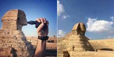 Taking touristic photos that matter