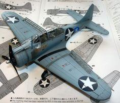 1/48 Hasegawa SBD-4 Dauntless by Waldemar Pupar