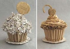 Cardboard Desserts - These Inedible Sculptures Are Actually Supposted to Taste Like Cardboard (GALLERY)