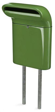 Exclusieve groene brievenbus - Born in Sweden door GroenGetint