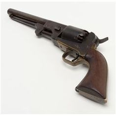 """Rare Dance Brothers, .44 caliber percussion Dragoon size revolver pictured on page 65 of """"Confeder"""