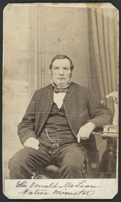 c.1860s-1870s.  Photographer unknown :Portrait of Sir Donald McLean. Ref: PA2-2604. Alexander Turnbull Library, Wellington, New Zealand. http://natlib.govt.nz/records/23070391