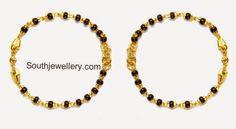 aww baby black beads bangles