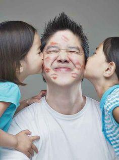 Besos al papá