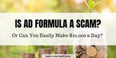 Thinking about buying Ad Formula? What is Ad Formula exactly? There are some shocking facts about this product that you need to know. Discover the truth. Website Hits, Types Of Websites, Squeeze Page, Shocking Facts, Reverse Image Search, Online Reviews, Making 10, You Really, Need To Know