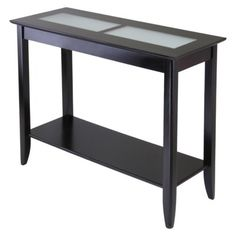 Syrah Console Table-Espresso.Opens in a new window