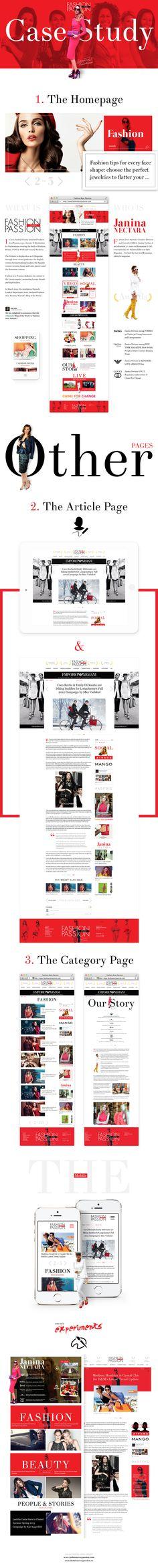 Fashion Avec Passion Case Study by Cosmin Neagu