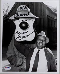 Nick Stewart Signed Brer Bear Disney Song Of The South 8x10 Photo PSA/DNA Auto @ niftywarehouse.com