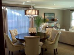 how to accessorize a open concept dining room - Google Search