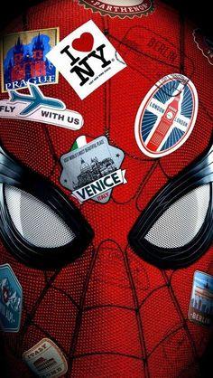Spiderman Far From Home Poster iPhone Wallpaper - Marvel Universe Films Marvel, Marvel Art, Marvel Heroes, Marvel Avengers, Marvel Comics, Spiderman Marvel, Amazing Spiderman, Movie Wallpapers, Iphone Wallpapers