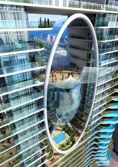 Parinee Ism 140 M residential tower in India. Luxury living in Mumbai