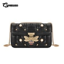 5ed739dfd1d92 CGMANA Famous Brand Bags For Women 2018 Luxury Handbags Women Bags Designer  Chain Bags Women Messenger
