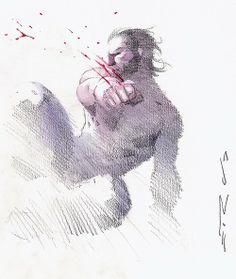 Wolverine by Esad Ribic