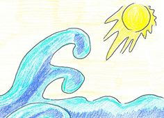 Un'illustrazione dal mio secondo libro per bambini Angel e Gio Gio