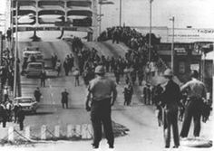 """On February 18, 1965, a young man named Jimmie Lee Jackson was shot and killed by a member of the Alabama State Police during a non-violent civil rights demonstration in Selma, Alabama. Seventeen days later, 525 civil rights activists marched from Selma to Montgomery, Alabama, in protest of that killing. They were attacked by state and local police armed with billy clubs, whips, and tear gas. That day—March 7, 1965—would come to be known as """"Bloody Sunday."""""""