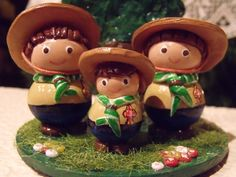 Reyes, Scouts, Christmas Ornaments, Holiday Decor, Boy Scouting, Modeling, Births, Bricolage, Boy Scouts